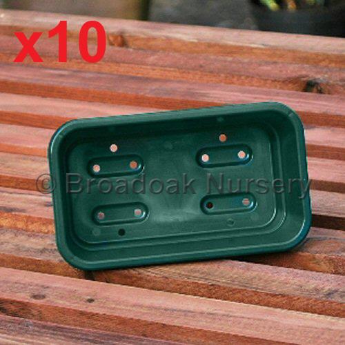 10 x mini seed trays quarter size seed tray great for windowsill