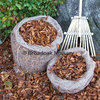 Jute Hessian Leaf Sacks - Compost Leaves (Composting Leaf Mould Sacks)