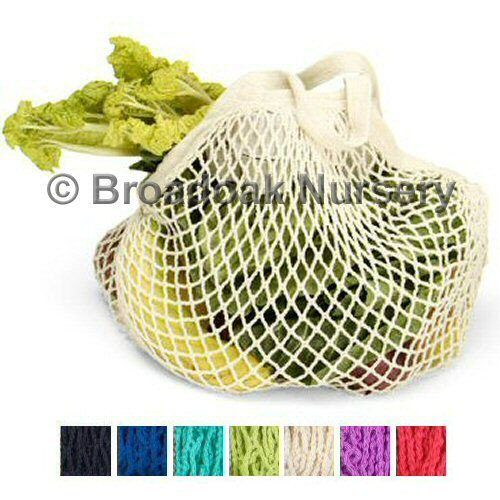 Organic Cotton String Bag - Turtle Bags, Reusable Shopping Carrier Bag
