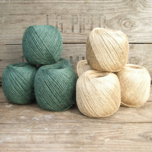 Jute Twine Balls (Natural or Green)