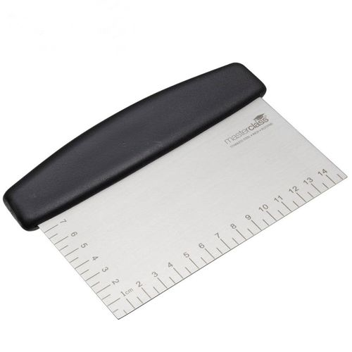 Professional Heavy Duty Dough Scraper & Measuring Guide, Cutter