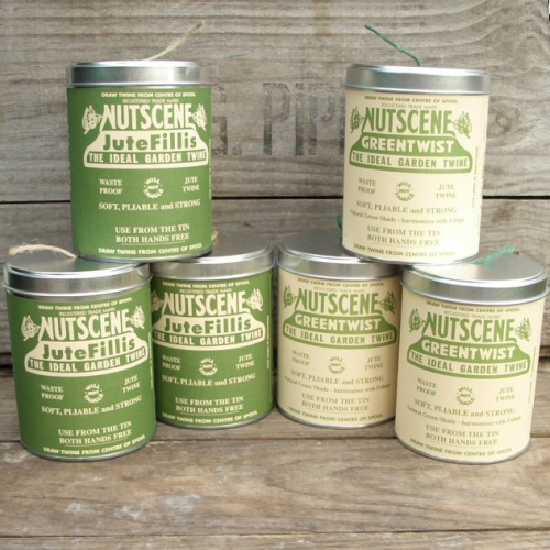 Iconic Nutscene Tin of Twine, Garden String, Craft Twine