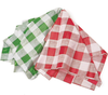 Gingham Check Table Cloth, Plastic - Parties Picnics BBQ