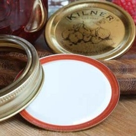 12 Replacement Seal Lids for Kilner Preserving Jars