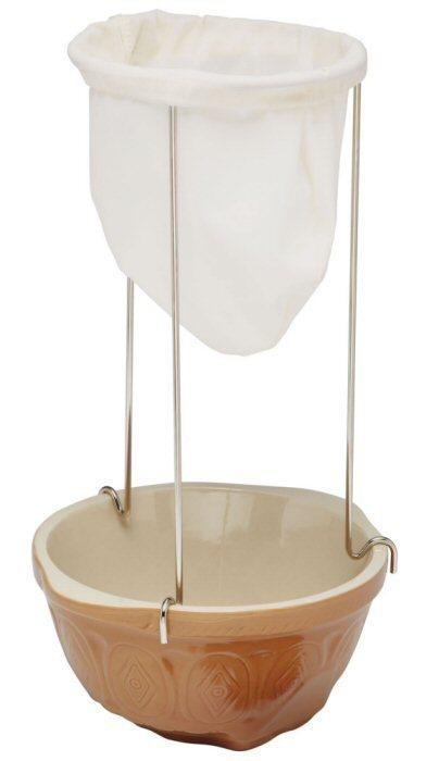 Jam Straining Kit Strainer Bag Stand Preserving Jelly