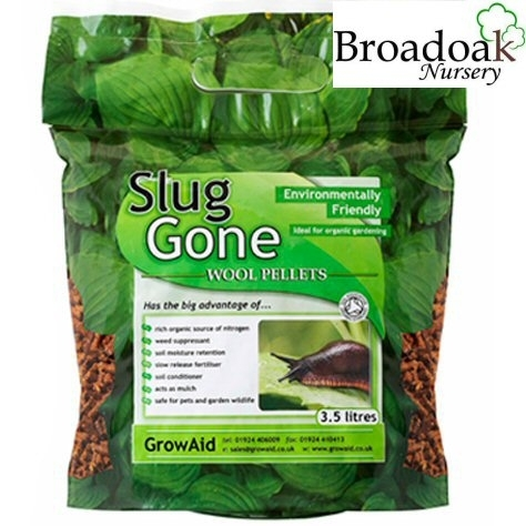 Slug Gone Wool Pellets 3.5 Litre Organic Slug Repellent / Control