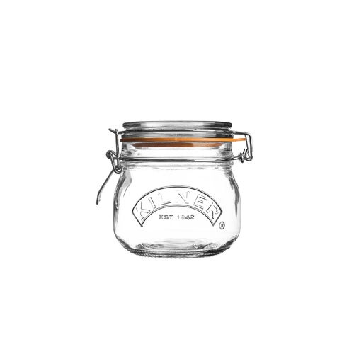 Kilner Clip Top Jar - 0.5 Litre - Jams, Pickles & Preserves