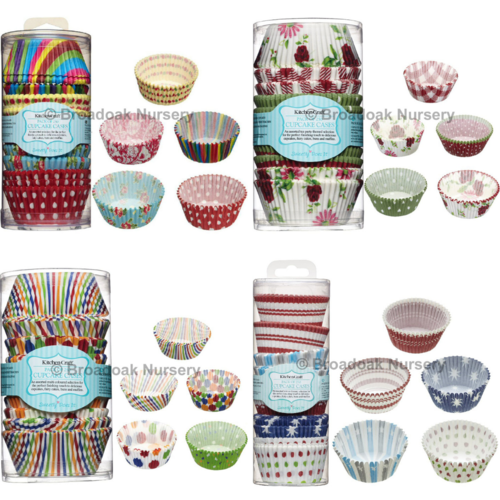 250 Assorted Cupcake Cases - Patterned Cake Cases