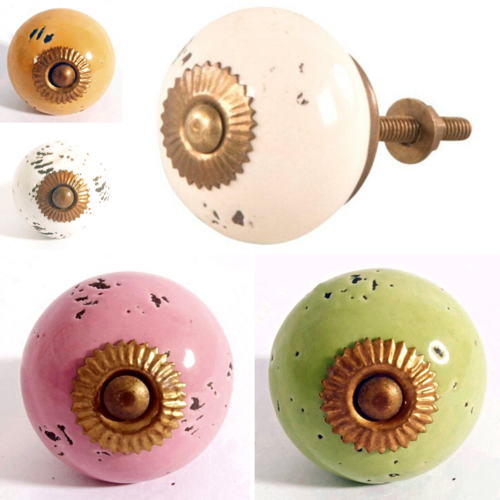 Ceramic Door Knobs Fair Trade, Cupboard, Drawer, Cabinets