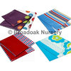 2 Pack Patterned Table Cloths, Printed Plastic - Party Picnic Barbecue
