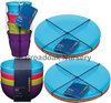 Colourworks Melamine Tableware, Party, Picnic, Camping, Dinnerware Set