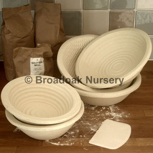 Round Banneton 1kg Dough Proving Basket, Bread Making, Brotform