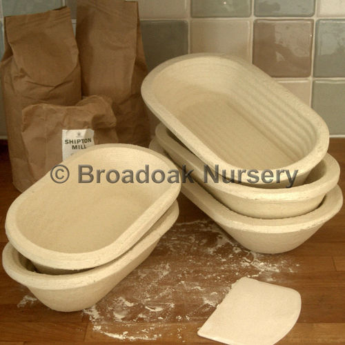 Long Oval Banneton 500g Dough Proving Basket, Brotform, Bread Making