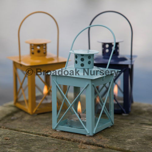 Nautical Mini Lantern Tealight Holder, Hanging Candle Holder