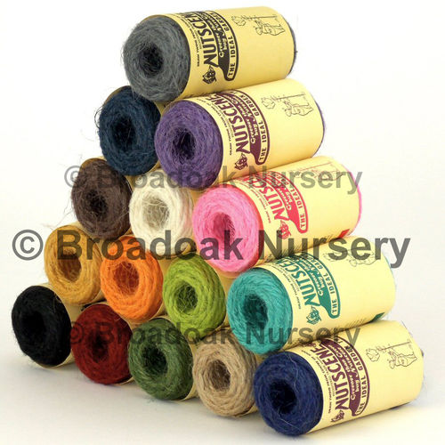 15 Nutscene Tiddler Twine 13m Spools 1 of each colour! Coloured String