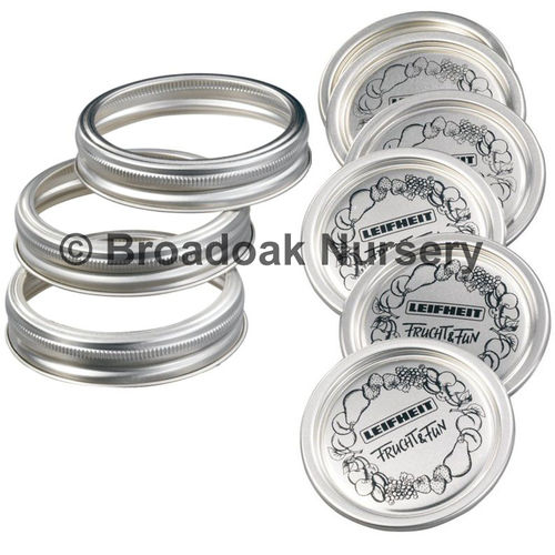 Screw Bands & Seal Lids - Large to fit Kilner Dual Purpose Jars