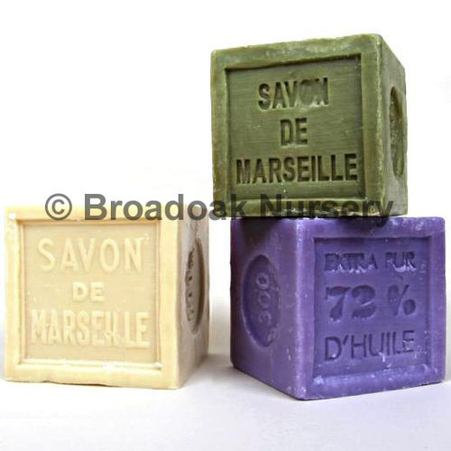 Traditional SAVON DE MARSEILLE Cube 300g Natural French Soap