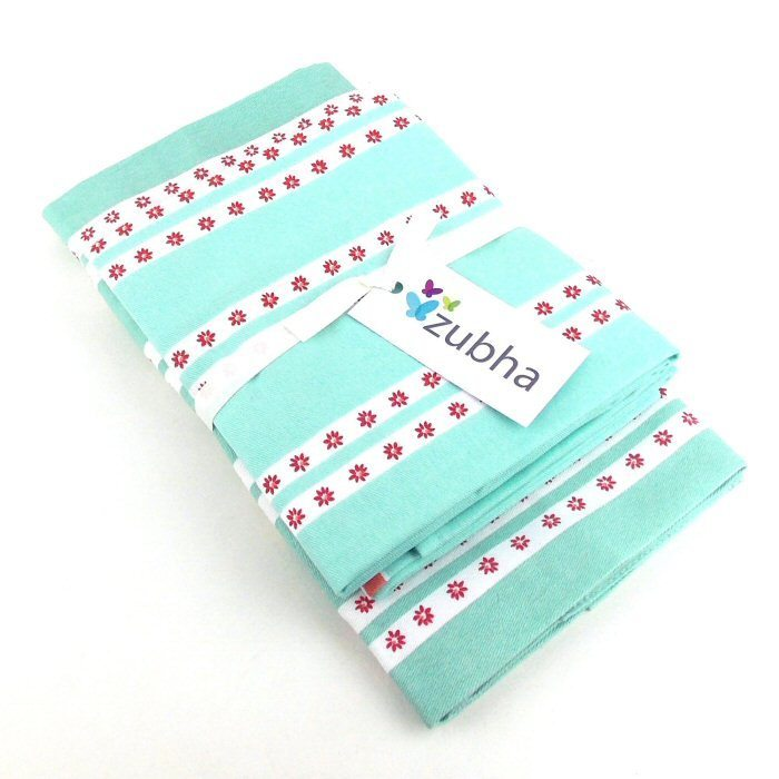 pretty kitchen textile set apron coordinating tea towels gift set
