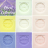 Savon de Marseille Floral Fragrances - Set of 8 x 100g Soap Cubes