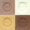 Savon de Marseille Gourmet Fragrances - Set of 4 x 100g Soap Cubes