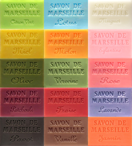 Savon de Marseille 60g French Soap Half Size Soap Bars
