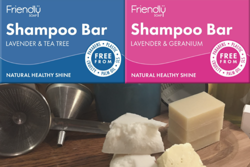 Natural Handmade Vegetable Shampoo Bar, Plastic Free, Friendly Soap