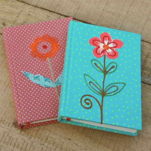 Pretty Flower Notebook, Fair Trade, Handcrafted