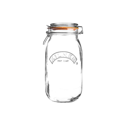 Kilner Clip Top Jar - 1.5 Litre - Jams, Pickles & Preserves